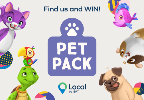 Find the Pet Pack for your chance to WIN $10,000!